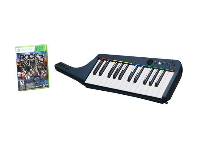 Rock Band 3 Keyboard Bundle Xbox 360 Game