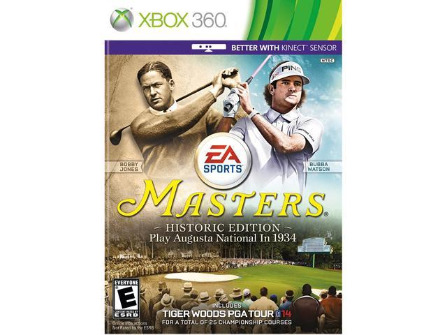 Tiger Woods PGA Tour 14 Masters Historic Edition Xbox 360 Game