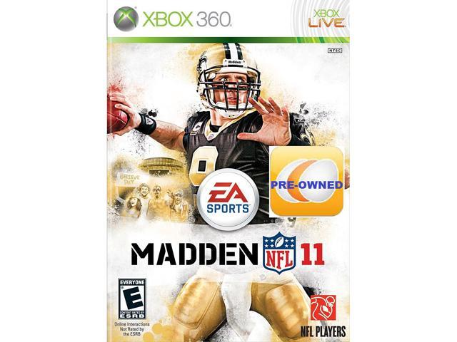 Pre-owned Madden NFL 11  Xbox 360