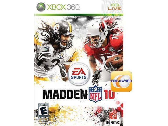 PRE-OWNED Madden NFL 10 Xbox 360