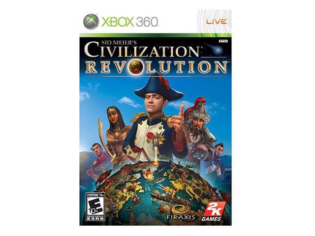 Sid Meier's Civilization Revolution Xbox 360 Game