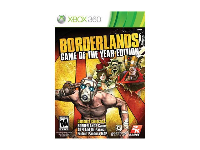 Borderlands: Game of the Year Edition Xbox 360 Game