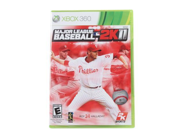 Major League Baseball 2k11 Xbox 360 Game