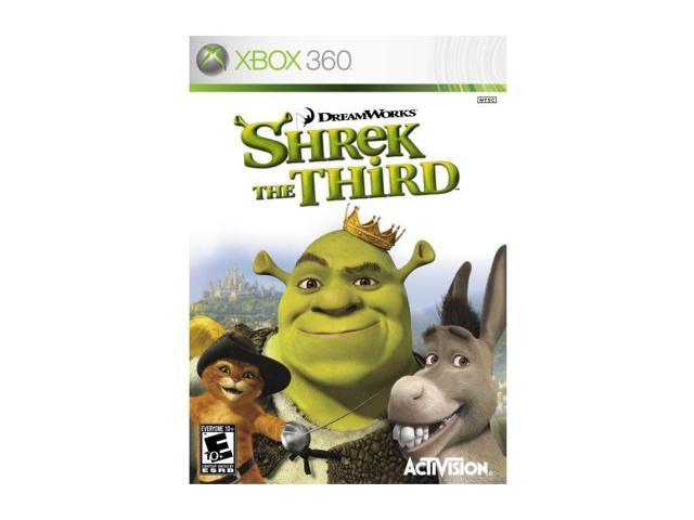 Shrek the Third Xbox 360 Game