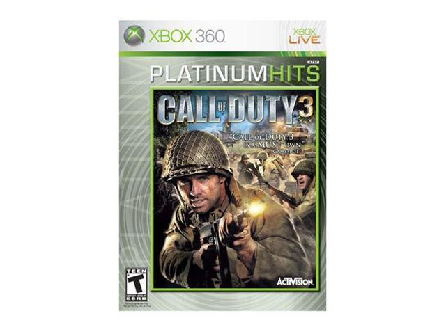 Call of Duty 3 Platinum Hits Xbox 360 Game