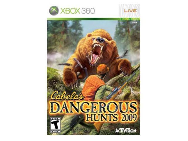 Cabela Dangerous Hunts 2009 Xbox 360 Game