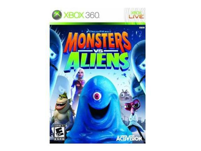 Monsters vs Aliens Xbox 360 Game