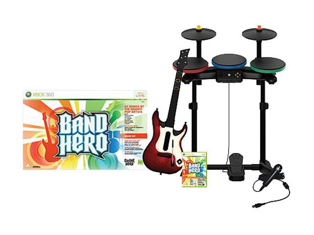 Band Hero: Band Kit Xbox 360 Game