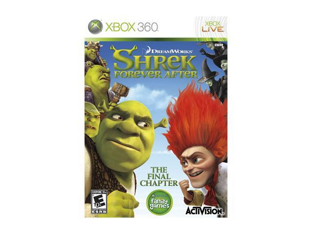 Shrek Forever After Xbox 360 Game