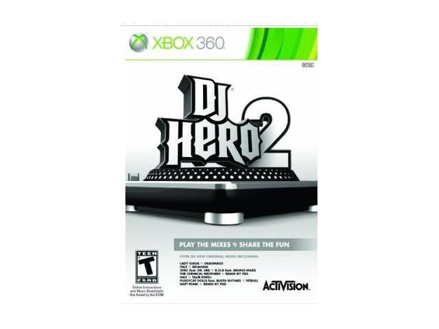 DJ Hero 2 Game Only Xbox 360 Game
