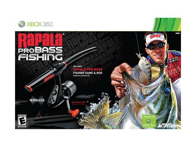 Rapala pro bass fishing 2010 bundle xbox 360 game for Xbox fishing games