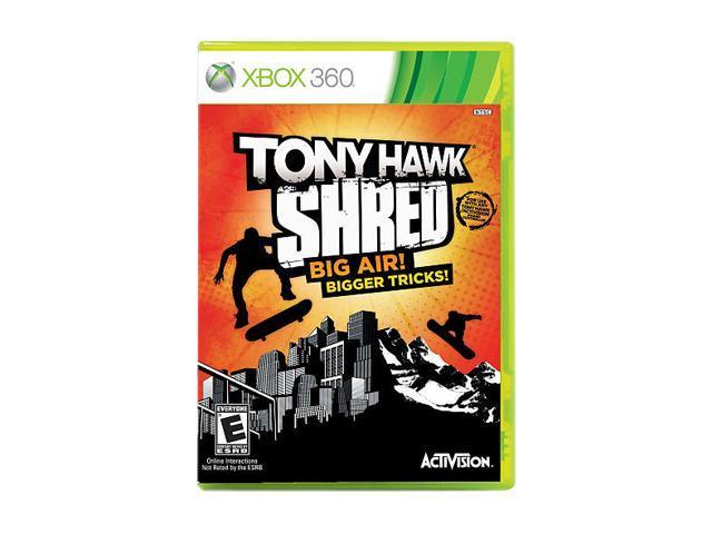 Tony Hawk Shred Xbox 360 Game