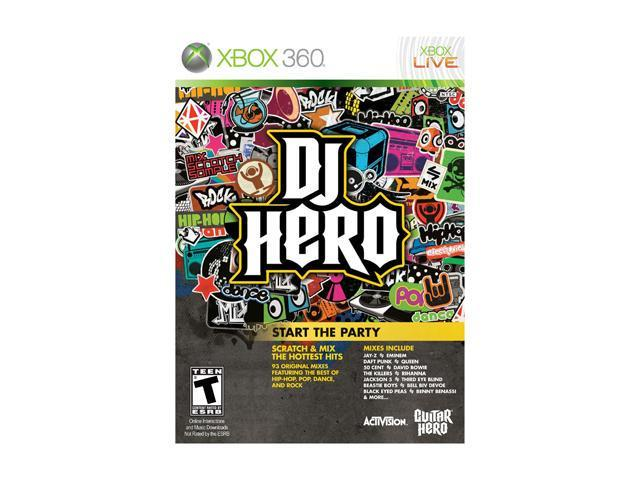 DJ Hero 1 (Game Only) Xbox 360 Game