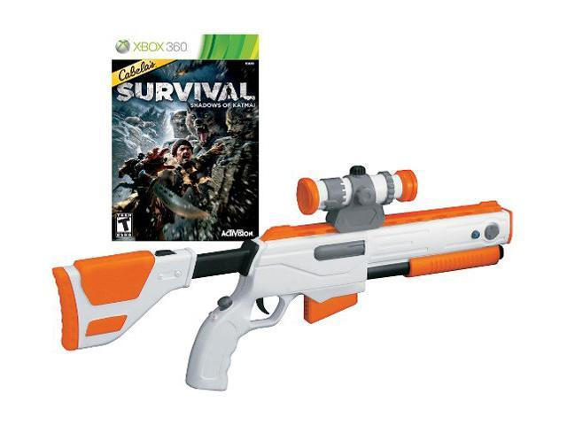 cabelas survival adventures wgun xbox 360 game neweggcom
