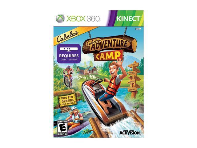 Cabela's Adventure Camp Xbox 360 Game