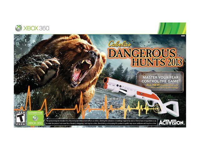 Cabela's Dangerous Hunts 2013 w/gun Xbox 360 Game