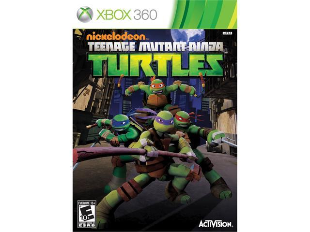 Teenage Mutant Ninja Turtles Xbox 360 Game
