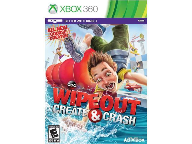 Wipeout Create & Crash Xbox 360 Game