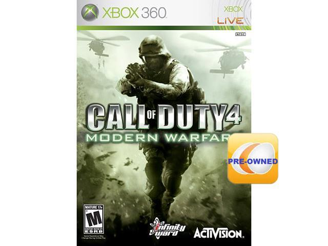 PRE-OWNED Call of Duty 4: Modern Warfare Xbox 360