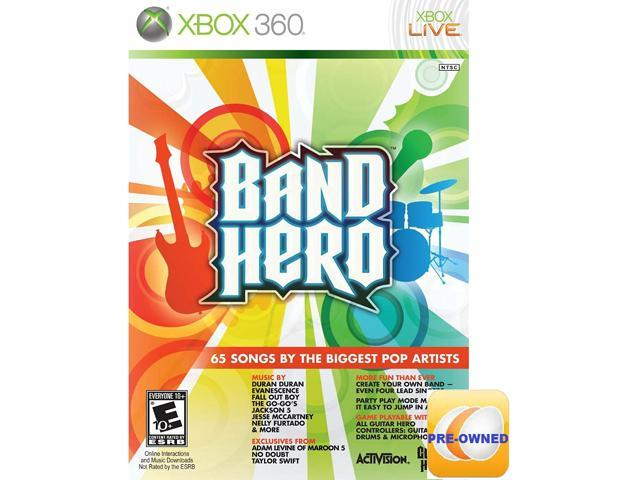 Pre-owned Band Hero  Xbox 360