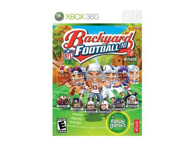 backyard football 2010 xbox 360 game