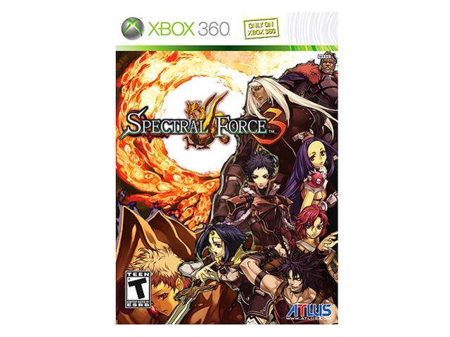 Spectral Force 3 Xbox 360 Game ATLUS