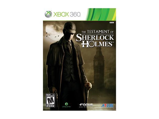 Testament of Sherlock Holmes Xbox 360 Game