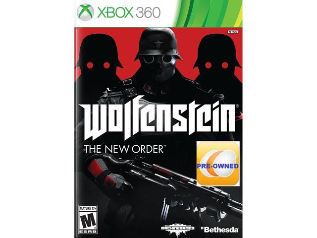 PRE-OWNED Wolfenstein: The New Order  Xbox 360