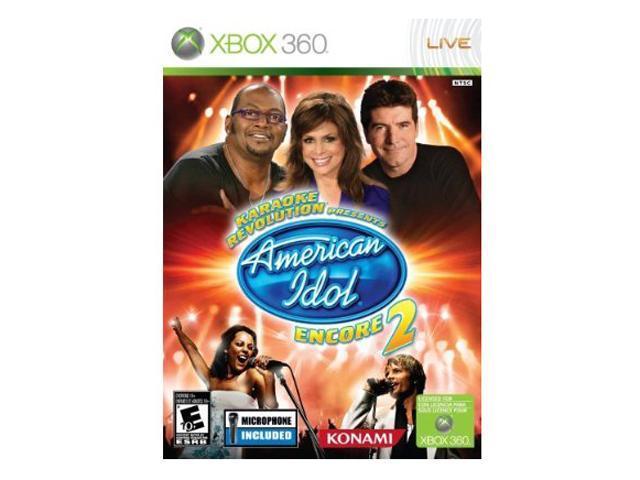 Karaoke Rev American Idol Encore 2 Bundle Xbox 360 Game