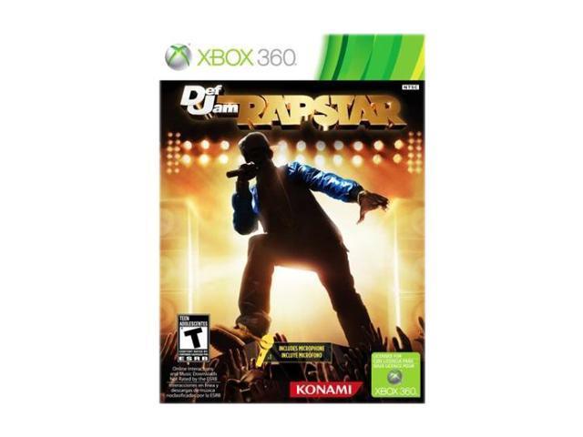 Def Jam Rapstar Bundle Xbox 360 Game