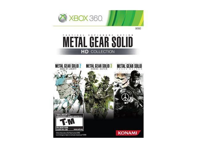 Metal Gear Solid HD Collection Xbox 360 Game