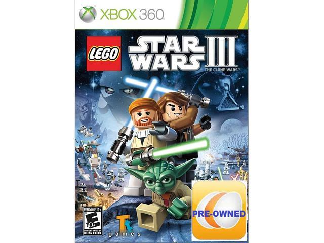 Pre-owned LEGO Star Wars III: The Clone Wars Xbox 360