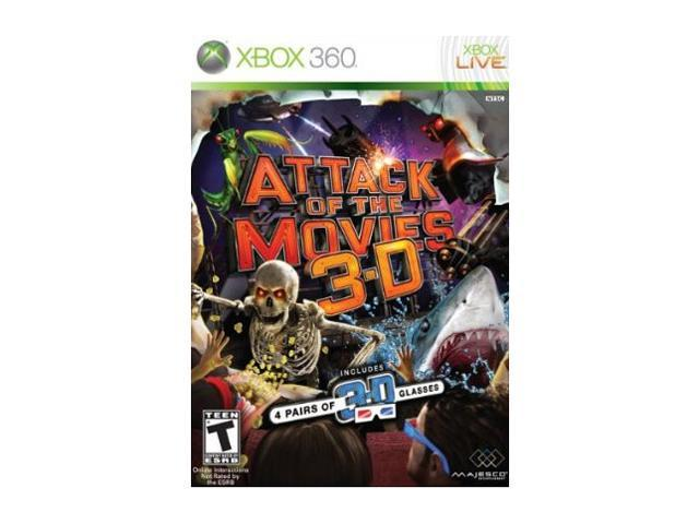 Attack of the Movies 3D Xbox 360 Game