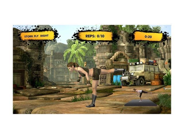 Jillian Michaels Fitness Adventure Xbox 360 Game MAJESCO