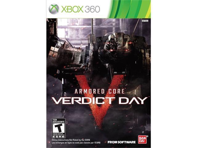 Armored Core: Verdict Day Xbox 360 Game