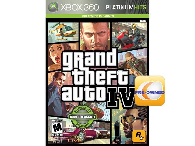 PRE-OWNED Grand Theft Auto IV Xbox 360