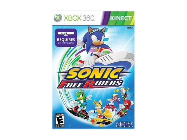 Sonic Free Riders Xbox 360 Game