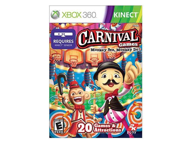 Carnival Games: Monkey See, Monkey Do Xbox 360 Game 2K Games