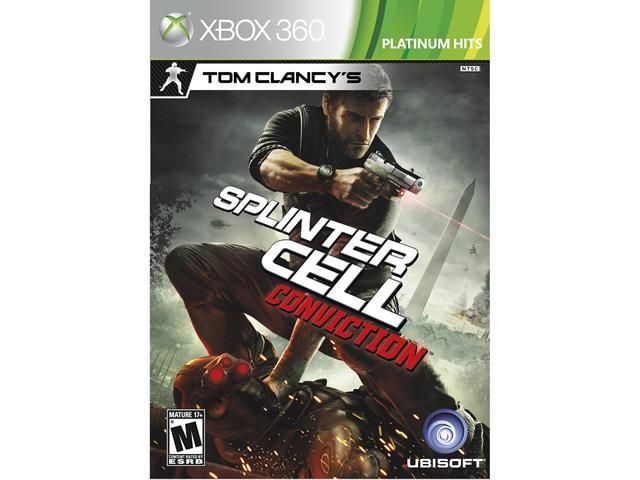 Tom Clancy's Splinter Cell Conviction Xbox 360 Game