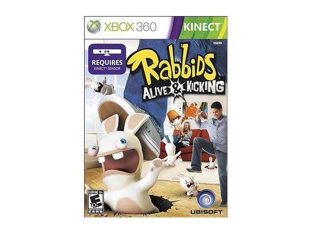 Raving Rabbids: Alive & Kicking Xbox 360 Game
