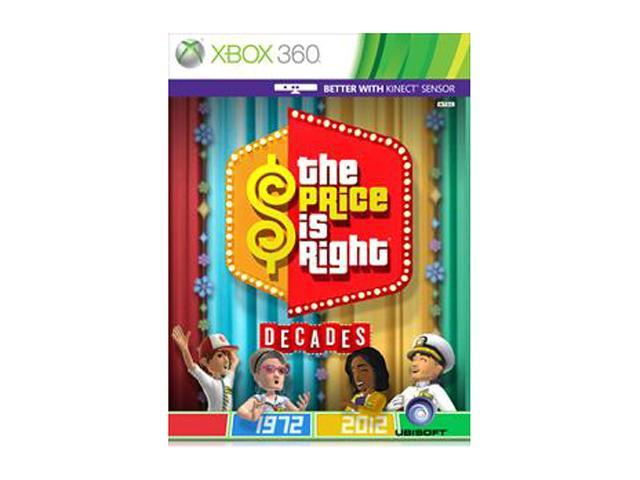 Price is Right Decades Xbox 360 Game
