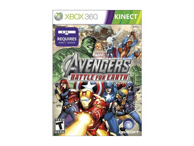 Marvel Avengers: Battle for Earth Xbox 360 Game