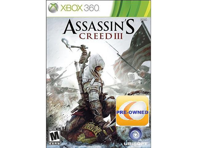 PRE-OWNED Assassin's Creed III Xbox 360