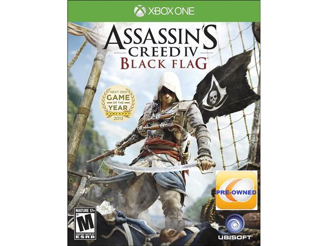 PRE-OWNED Assassin's Creed IV Black Flag  Xbox One