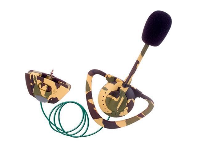 Intec Camo Headset (Jungle Camo)