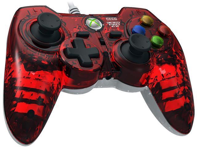 HORI Xbox 360 Gem Pad EX - Ruby Red