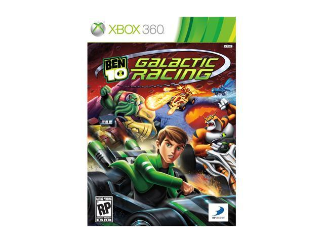 Ben 10: Galactic Racing Xbox 360 Game