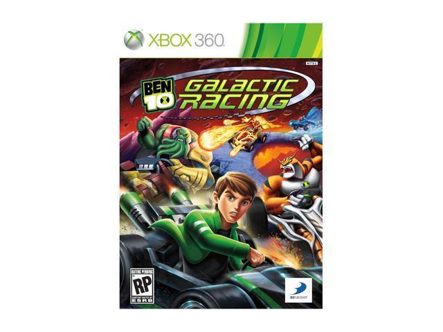 Ben 10: Galactic Racing Xbox 360 Game