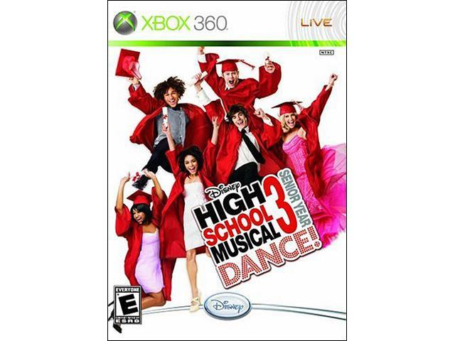 High School Musical 3: Senior year Dance w/Dance Mat Xbox 360 Game