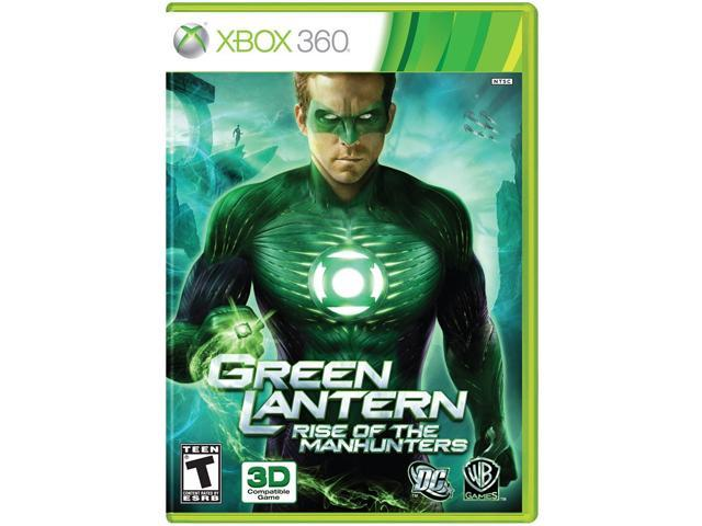 Green Lantern: Rise Of Manhunters Xbox 360 Game